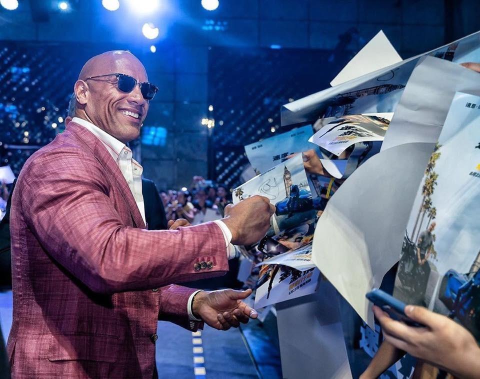 巨石強森的成功之路:從口袋7塊錢到躋身《富比士》全球富豪榜