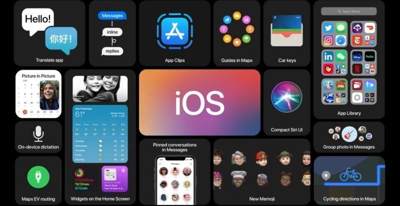 iOS 14亮相:全新桌面管理App Library、自訂Widget小工具,還有「車鑰匙」功能