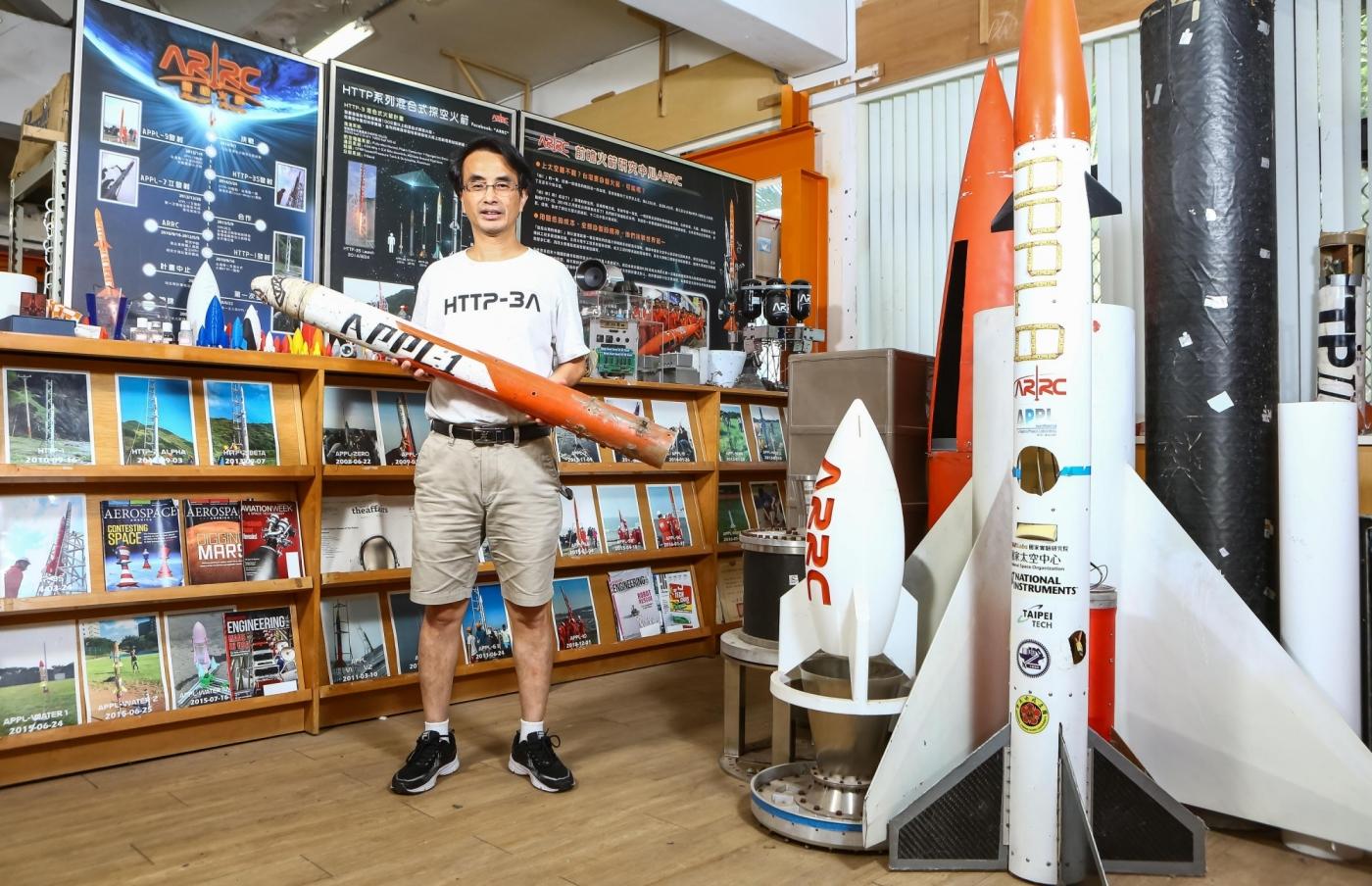 火箭阿伯吳宗信二度集資!拚明年七月發射,續寫台灣「太空夢」