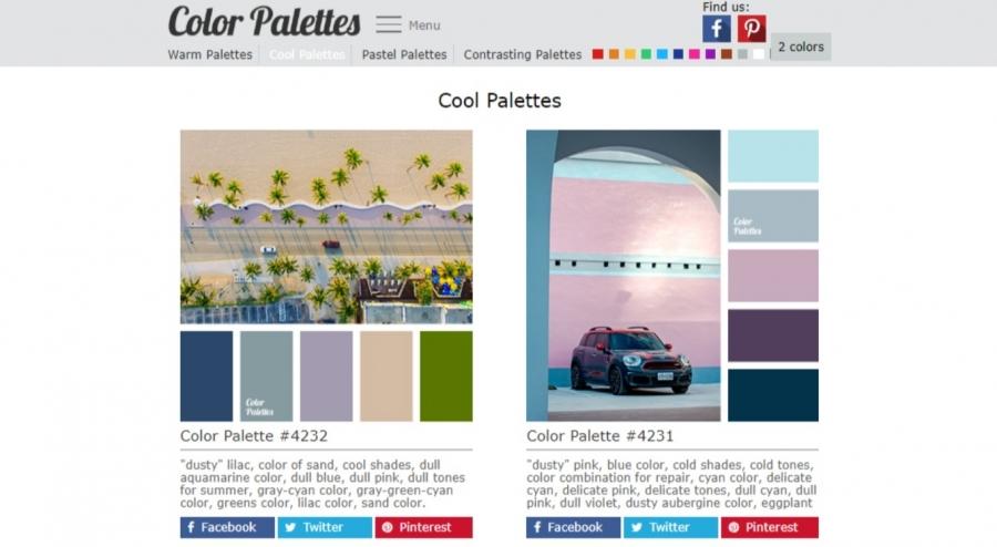 Cool Palettes