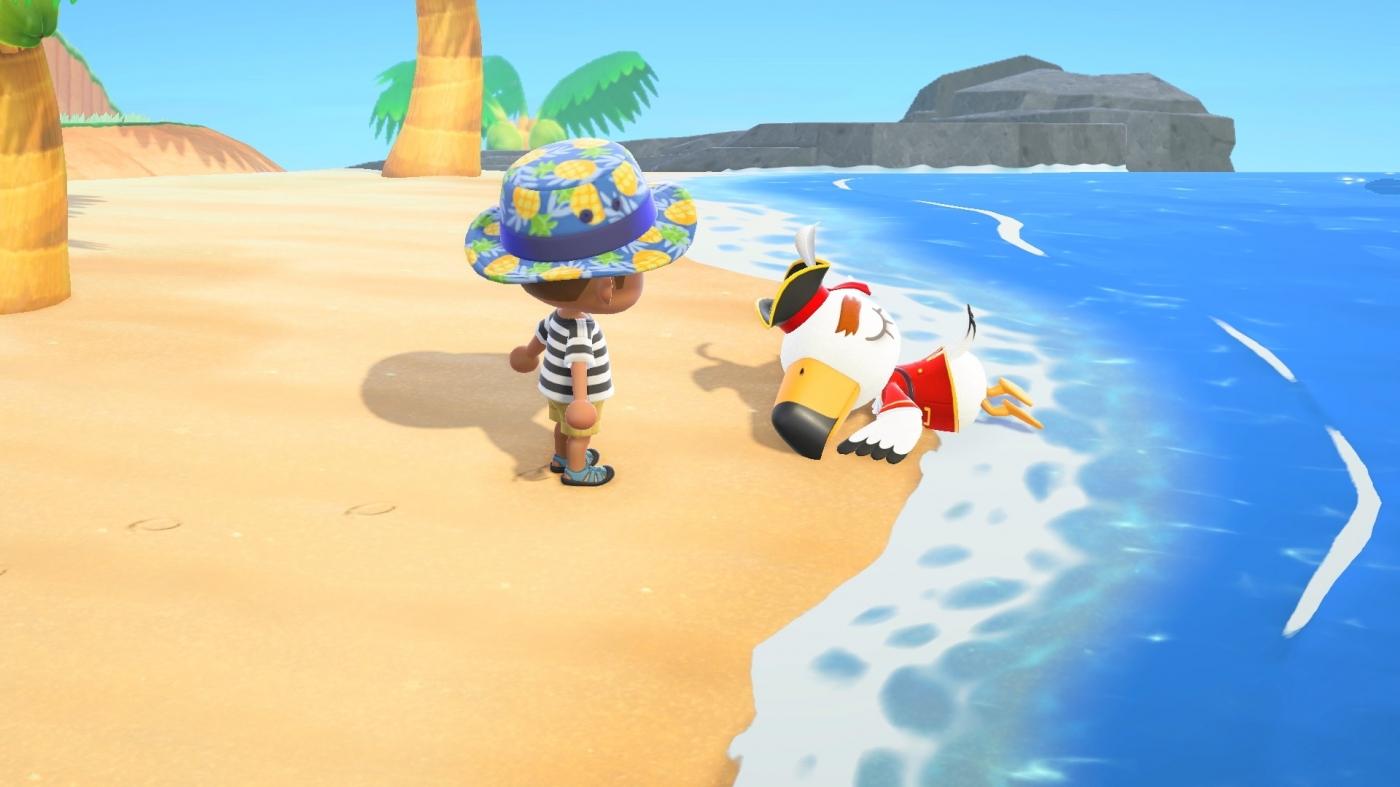 跳水尋寶囉!《集合啦!動物森友會》夏季更新內容正式上線,加入阿獺、海盜NPC