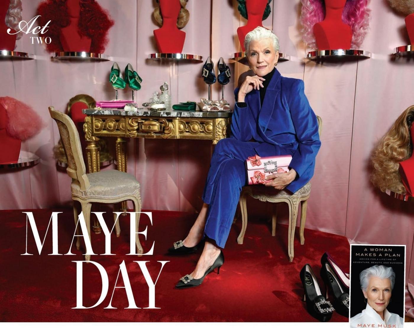 營養學博士、72歲網紅都是她!馬斯克之母:拜社群之賜,我成最老的封面女郎