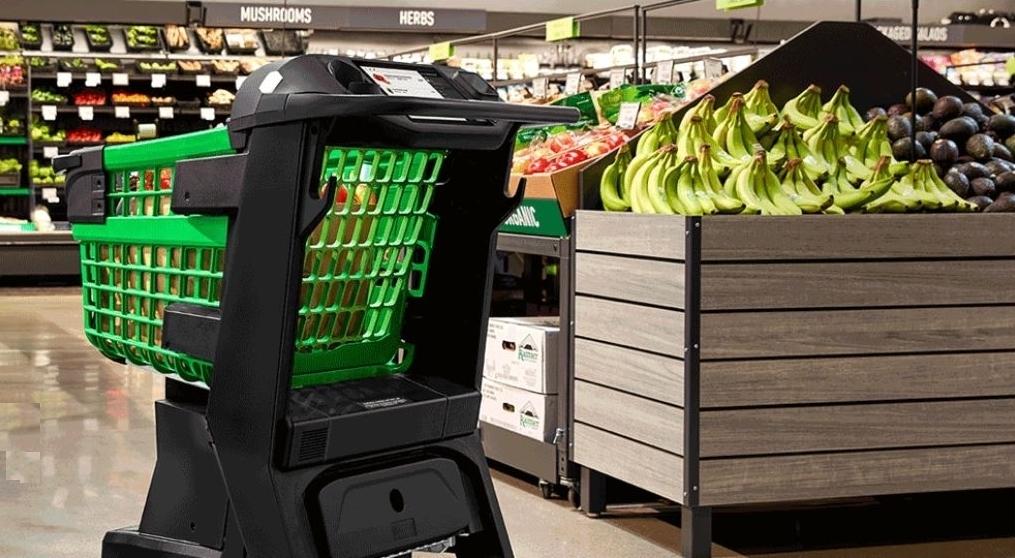 亞馬遜推智慧購物車Dash Cart,讓商家轉型「無人商店」更容易