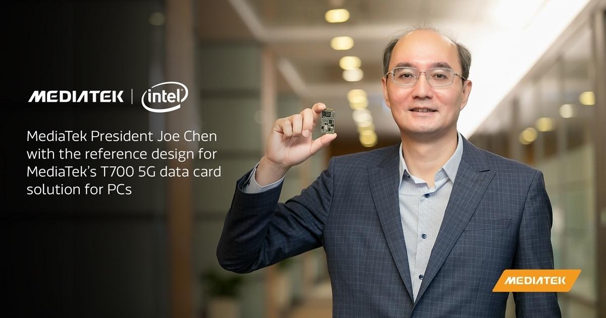 聯發科牽手英特爾進軍5G筆電,2021年與高通正面對決