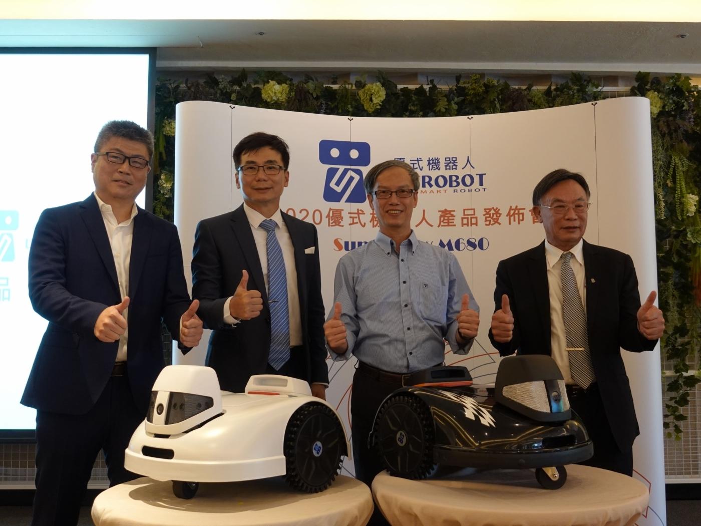 台灣新創公司優式機器人,推出電子圍籬智能護草機器人M680,美化生活無遠弗界!
