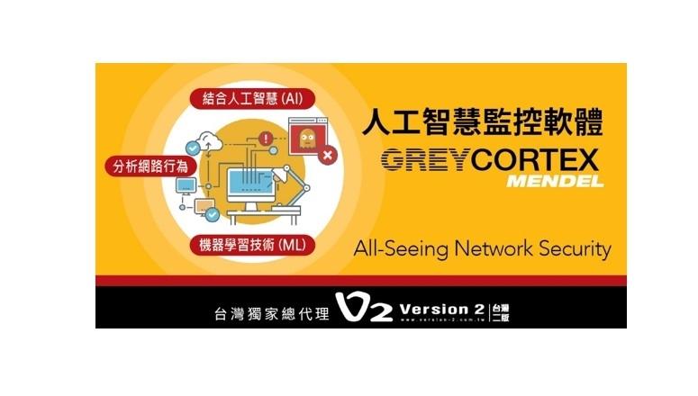 【GREYCORTEX MENDEL人工智慧監控軟體】協助偵測企業內部網路流量,找出可能潛在的威脅