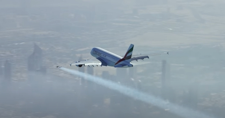 真實版鋼鐵人飛行中?美國機長目擊有人駕駛噴射背包在3,000英尺高空飛行