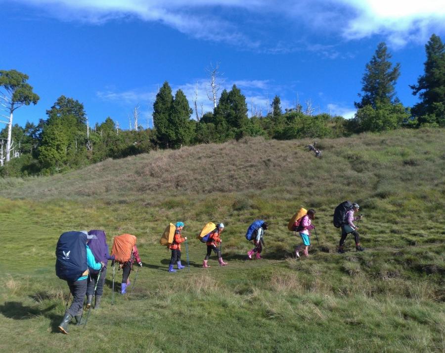 山是孩子的教室!台灣生態登山學校「亞成鳥計畫」:讓孩子經歷獨行,回到自己的內在