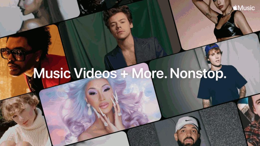 迎戰YouTube Music?蘋果推Apple Music TV連播熱門排行榜音樂錄影帶