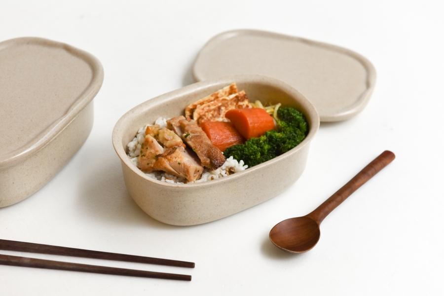 稻殼做的便當盒!台灣品牌厝內「Rice-Cycle稻殼便當盒」將環保納入台式生活美學