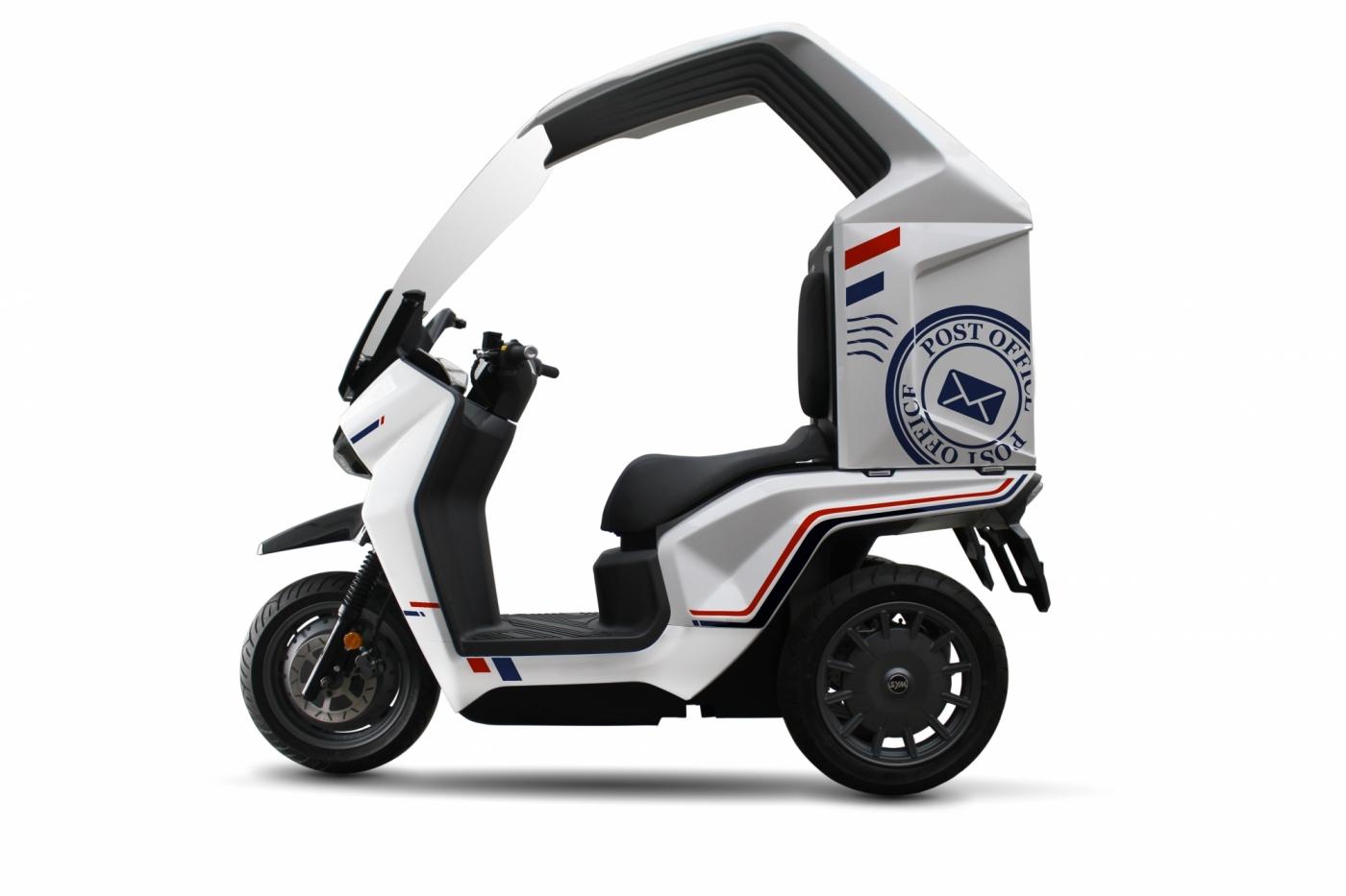 三陽線上車展9款新車齊發!電動三輪車也亮相,用鋁電池快充有什麼特點?