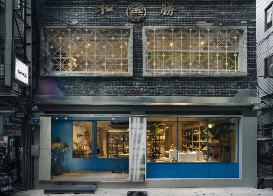 赤峰街老屋化身選品咖啡店!保留老招牌、復古鐵窗花「HEAVEN by nest」交融 80 年代氛圍