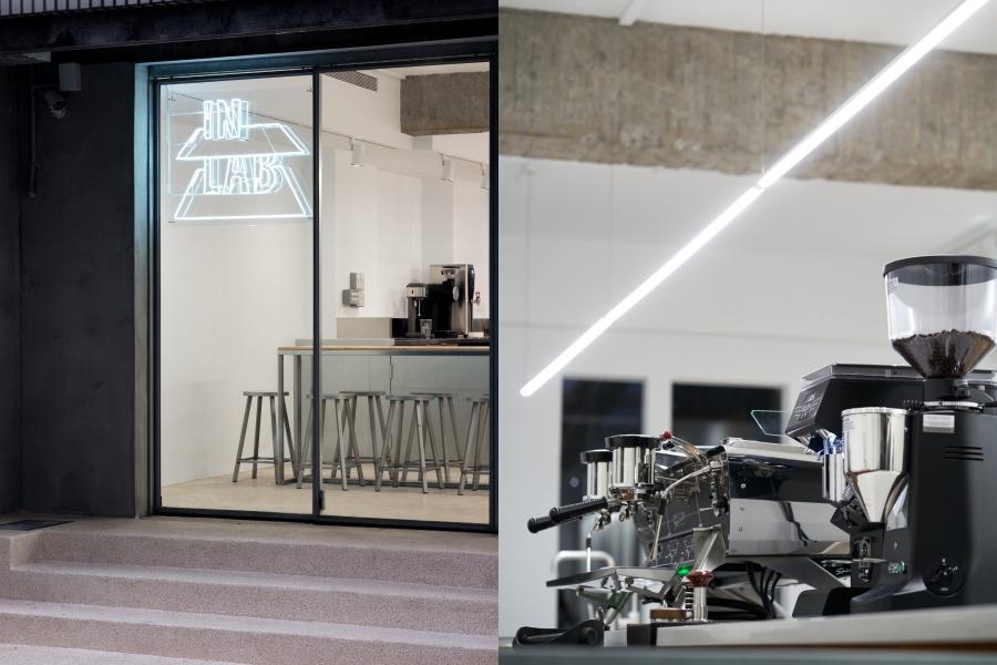 台北精品咖啡館「IN LAB」新揭幕!攜手歐洲第一植物奶 alpro 主題策展,打造靜謐的光盒微空間