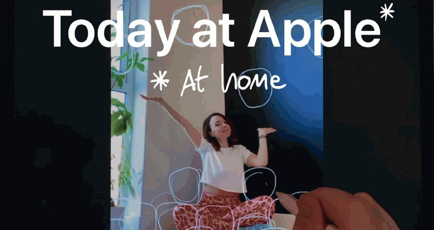 蘋果Today at Apple設計課免費開放,系列線上課程今日開跑