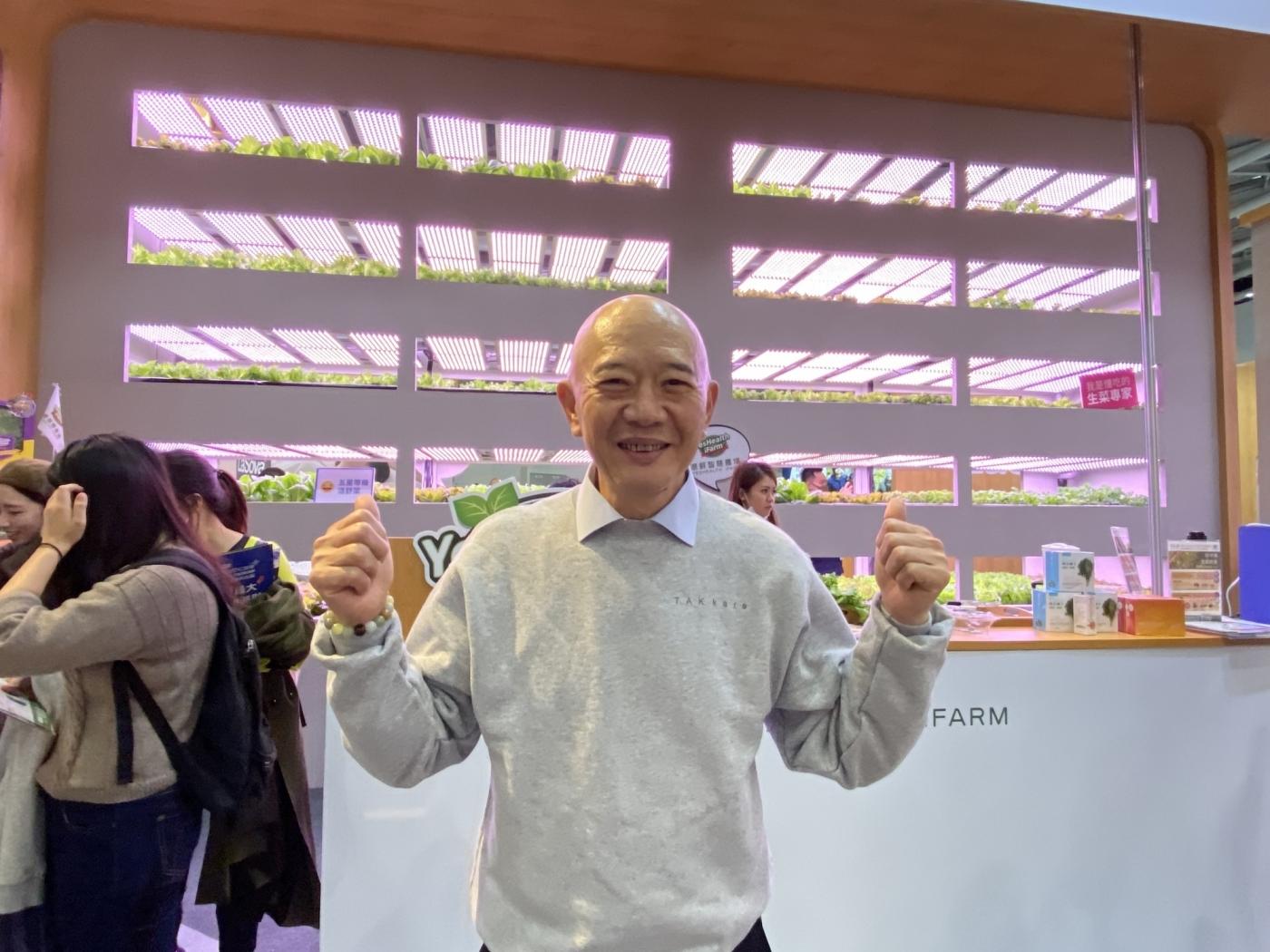 特力總裁何湯雄將開特安康實體店!賣保健品、蔬菜,還拍片變身網紅老闆