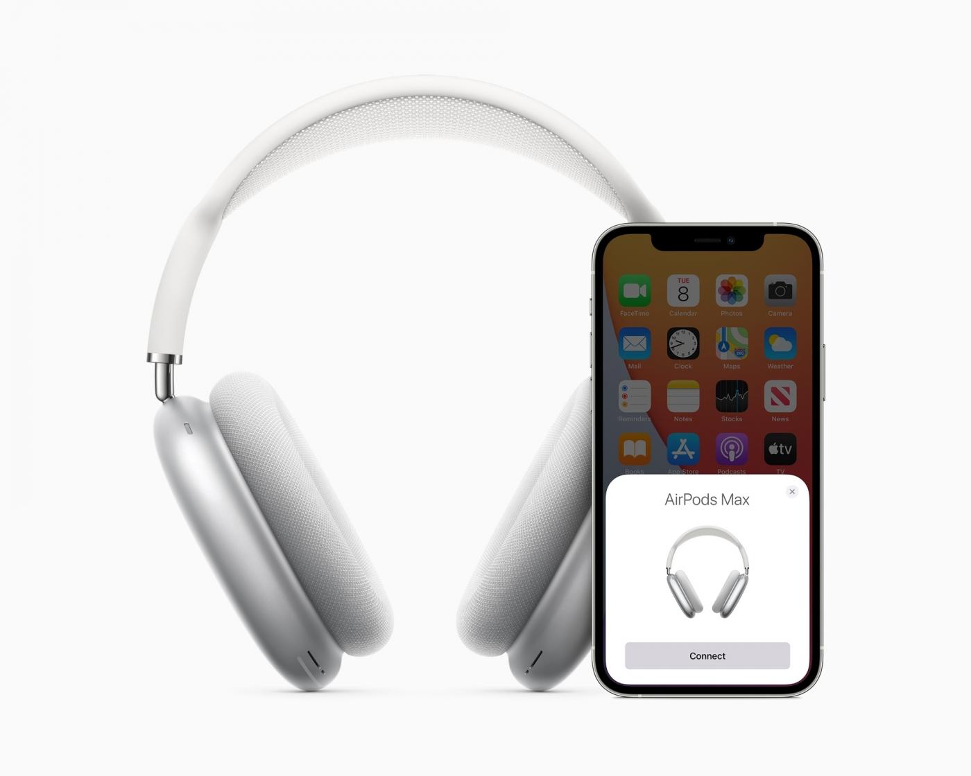 20小時續航!蘋果無線頭戴式耳機AirPods Max亮相,價格、功能一次看