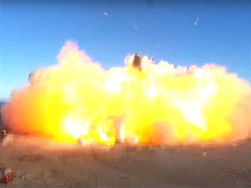 SpaceX星艦首度試飛,著陸時卻炸成火球!馬斯克仍發推特喊「恭喜」?