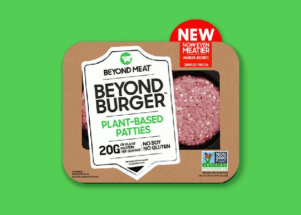 圖2-Beyond-Meat的未來漢堡肉排在2013年就連軍美國Whole-Food超市。11月在台
