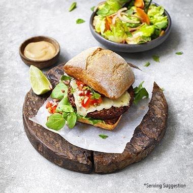 圖3-雀巢旗下Garden-Gourmet無肉品牌在歐洲推出Incredible-Burger。圖片