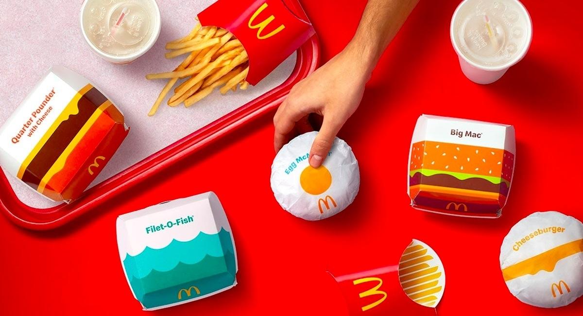 麥香魚配藍色波浪、早餐搭上太陽蛋!為何麥當勞也要換上「極簡」新衣?