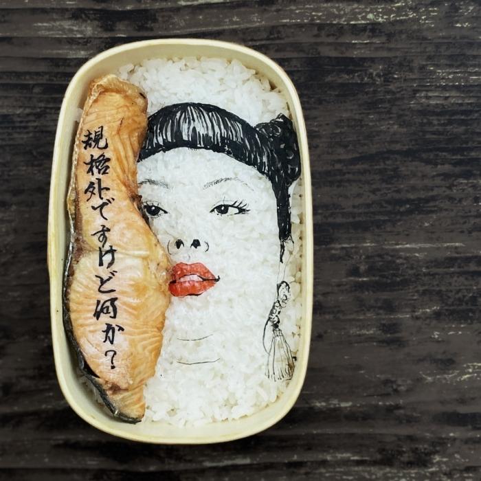 便當的藝術!廣島設計師巧手製作,渡邊直美、梵谷自畫像、《丁丁歷險記》化身便當盒裡的美景