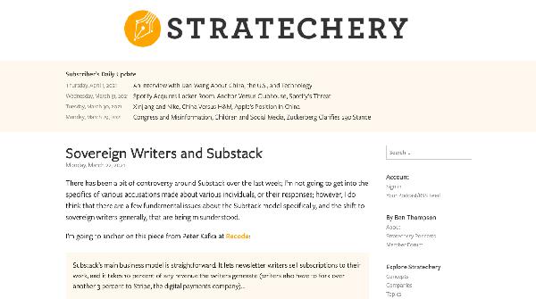 Stratechery