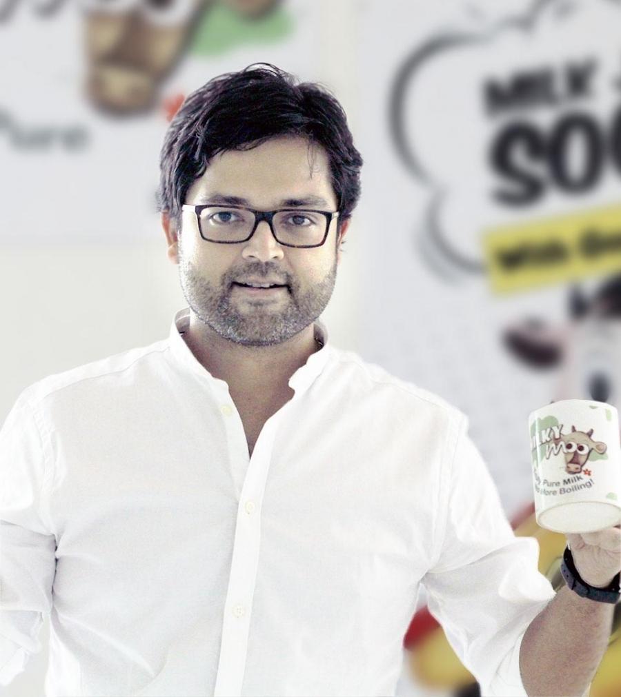 Milk Mantra 創辦人兼執行長 Srikumar Misra