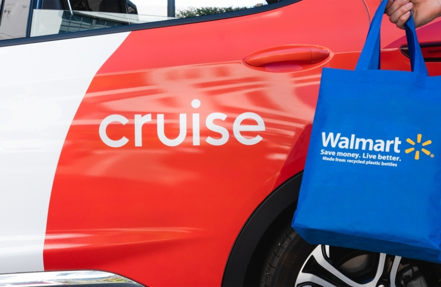 Walmart Teams Up with Cruise