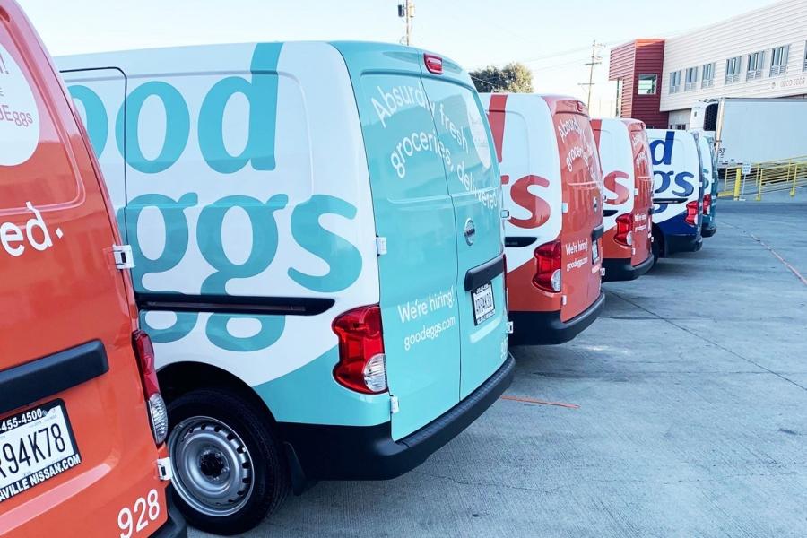 美國舊金山線上生鮮雜貨外送服務Good Eggs