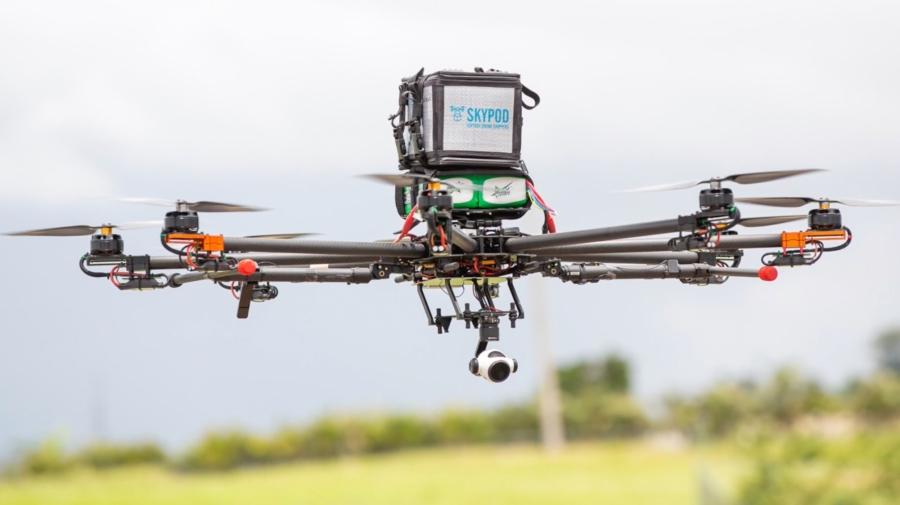 AT&T、Softbox 和 Merck 測試以無人機飛運送醫療用品