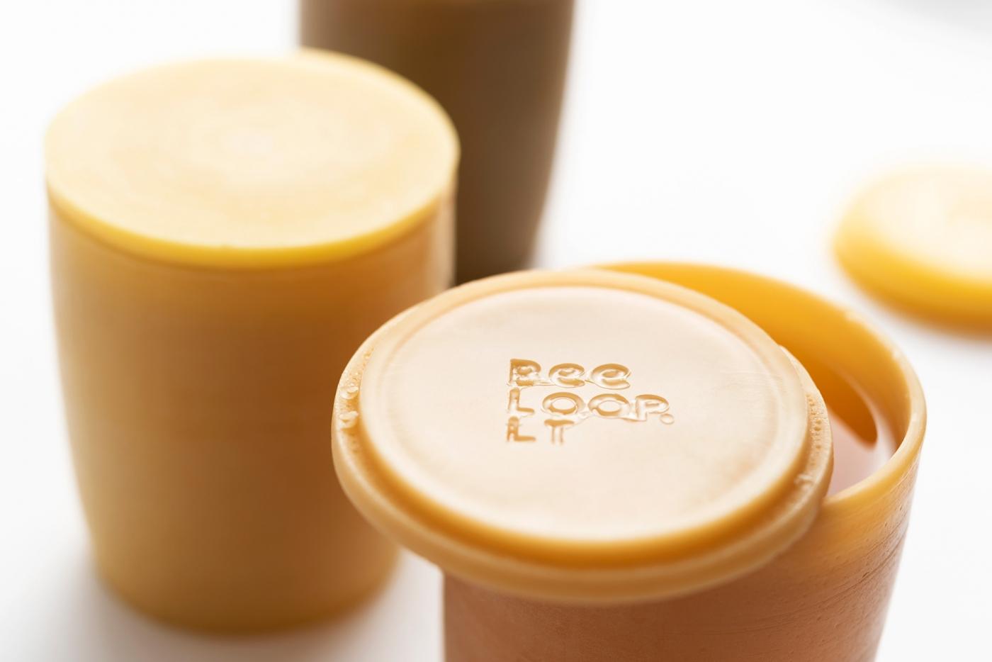 Bee friendly 的蜂蜜包裝設計!立陶宛「Bee Loop」以可食用蜂蠟製成罐身,使用完能「還給蜜蜂」