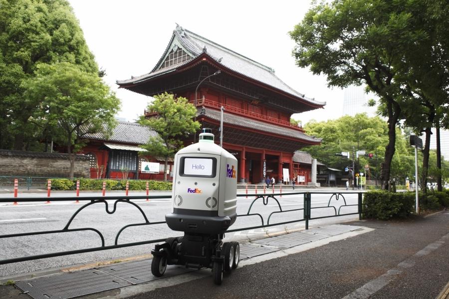 FedEx SameDay Bot自動送貨機器人Roxo於日本東京.jpg