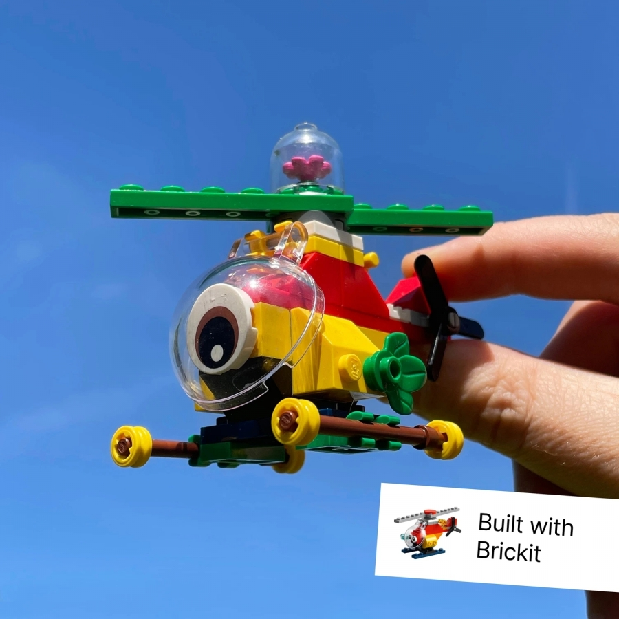 Brickit: Rebuild your Lego