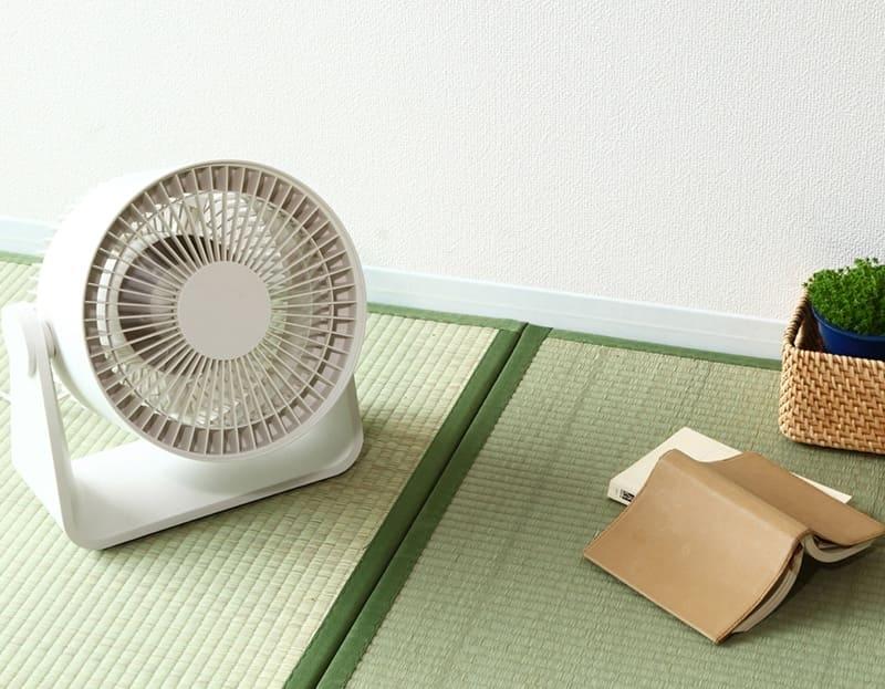 空氣循環風扇(小),1,980元:扇葉經過重新改良,確保大風量的同時又是低噪音的空氣循環風扇。.jp