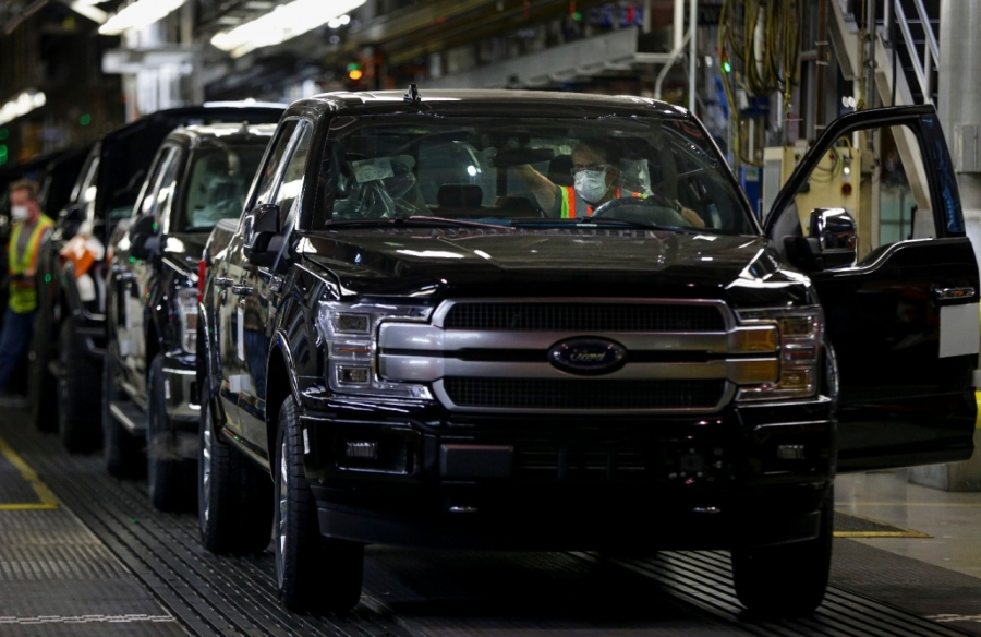 Ford Resumes U.S. Production And Operations