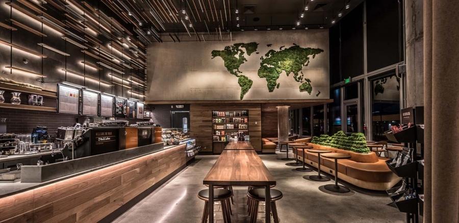 星巴克上海 Greener Stores