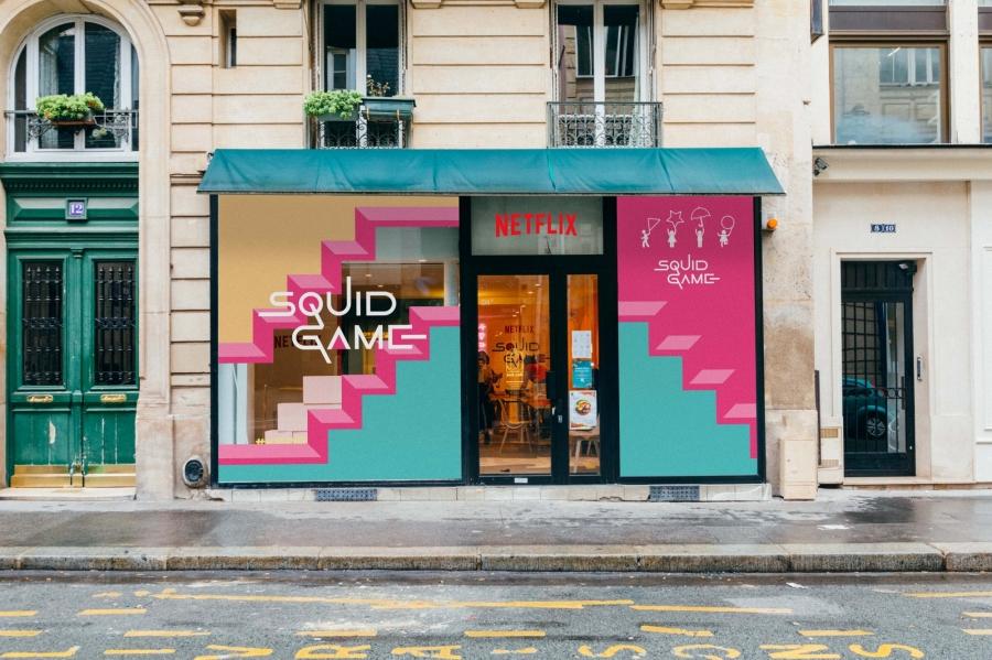 《魷魚遊戲》快閃咖啡廳亮相巴黎1.jpeg