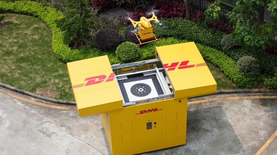 DHL Express 推出定期全自動智慧城市無人機配送服務