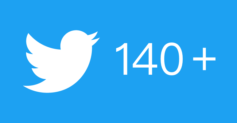 「推特體」將改變?Twitter測試調高字數上限至280字元