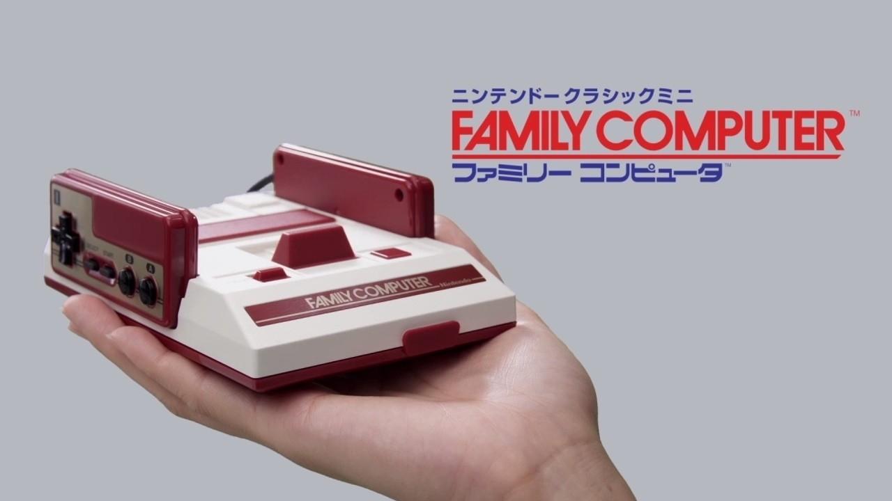 任天堂推出迷你經典紅白機,內建30款經典遊戲、台幣不到兩千元就可抱回家!