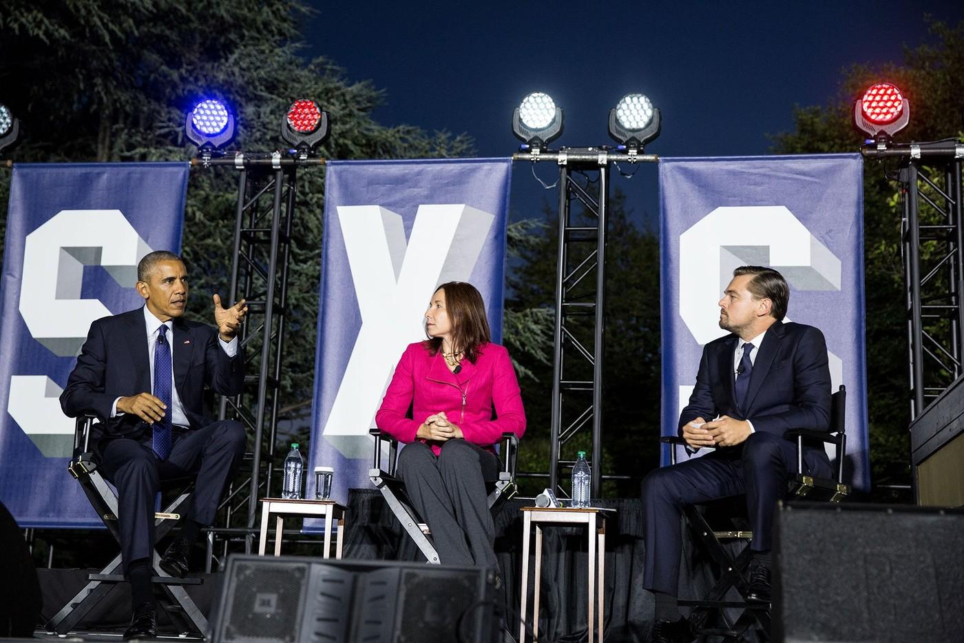 歐巴馬舉辦首場白宮音樂節SXSL,李奧納多狄卡皮歐、Slack執行長皆出席