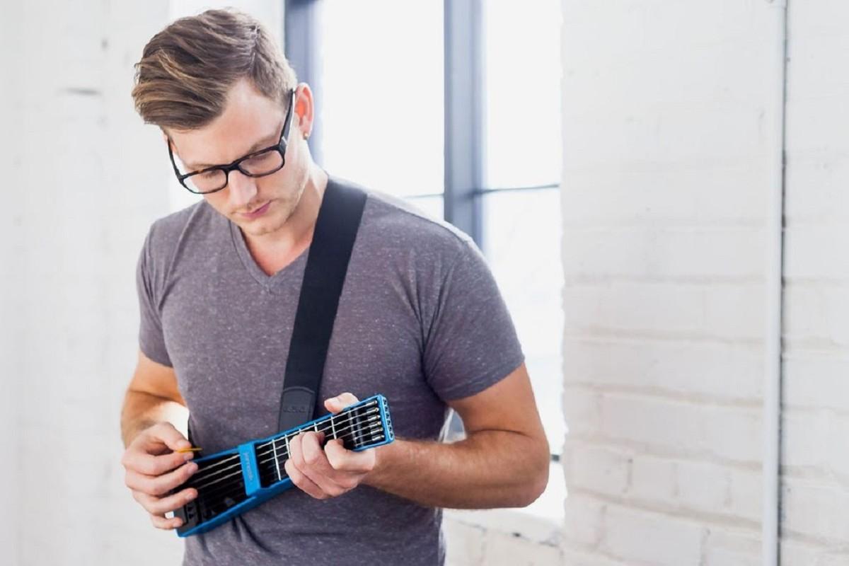 Jamstik+ 吉他初學者的入門神器 數位時代