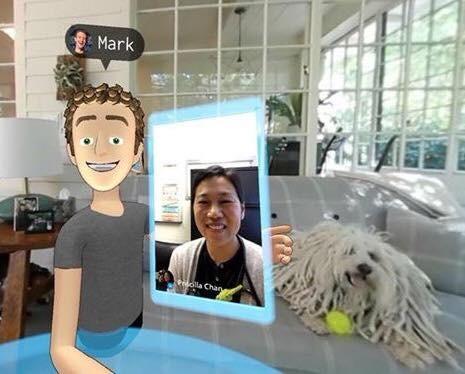 不只有聲音還可以有表情,看Facebook示範如何用VR玩社群