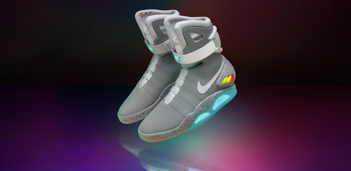 《回到未來》一年後,只要10美元就有機會穿上Nike Mag!